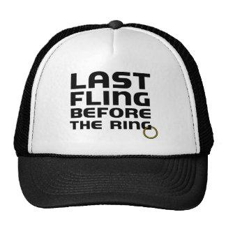 Last Fling Before the Ring Bachelor Cap