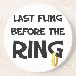 Last Fling Before the Ring coasters