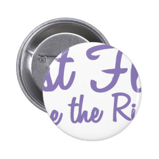 Last Fling Before the Ring in lavender 6 Cm Round Badge