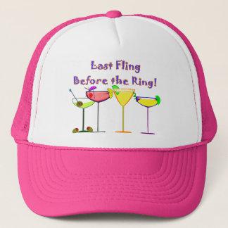 Last Fling Before The Ring Trucker Hat