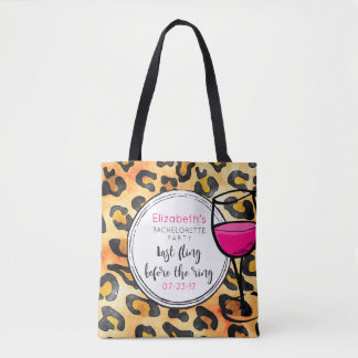Last Fling Before The Ring Wild Bachelorette Tote Bag
