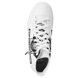 Last Foreign Queen High Top Shoes For Men & Women Printed Shoes