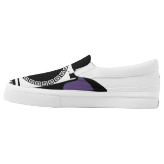 Last Foreign Queen Zipz Slip On Shoes, US Women 6 Printed Shoes