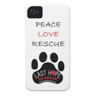 Last Hope K9 Rescue iPhone 4 Case