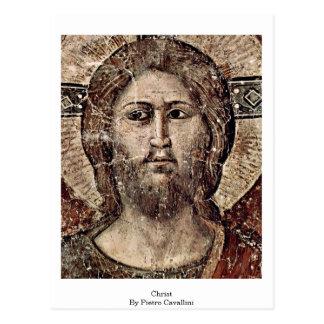 Last Judgement: Christ By Pietro Cavallini Postcards