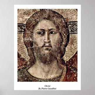 Last Judgement: Christ By Pietro Cavallini Print