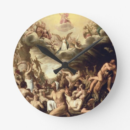 Last Judgement Round Clocks