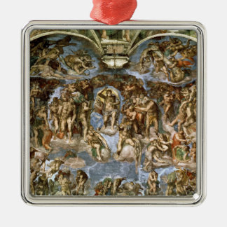 Last Judgement, from the Sistine Chapel, 1538-41 Metal Ornament