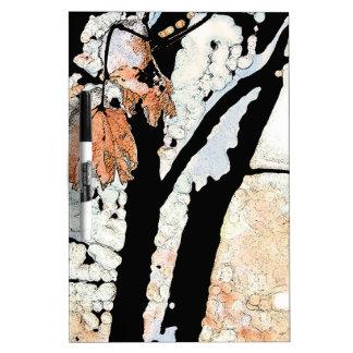 Last Leaf Dry Erase White Board