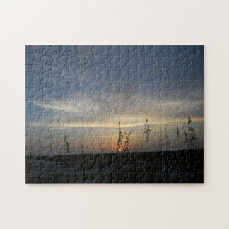 Last Light -- canvas print Jigsaw Puzzle