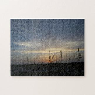 Last Light -- canvas print Puzzle