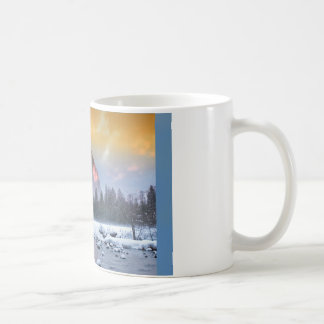 Last Light on El Capitan Coffee Mug