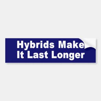 Last Longer Bumper Sticker