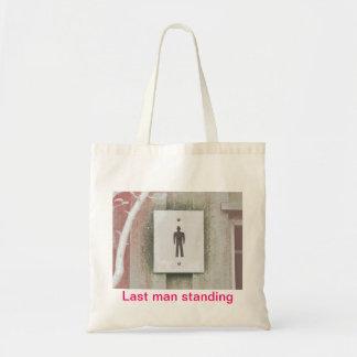 """Last man standing"" Budget Tot. Tote Bag"