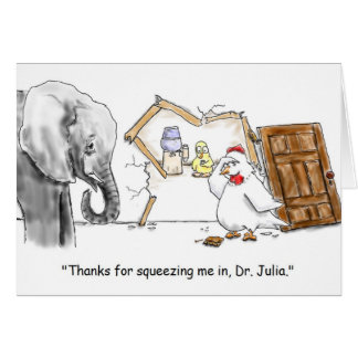 Last Minute Appointment Greeting Card