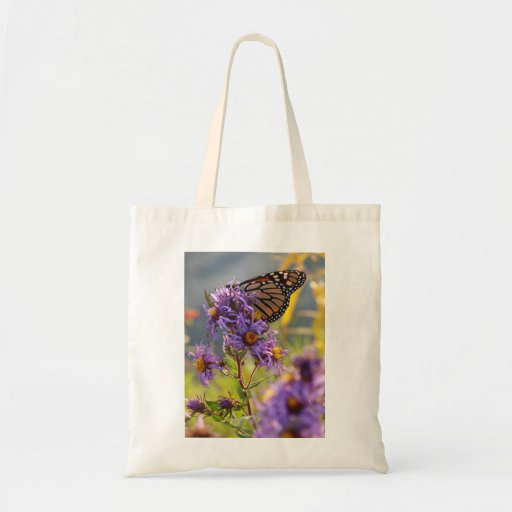 Last Monarch Butterfly Tote Bags