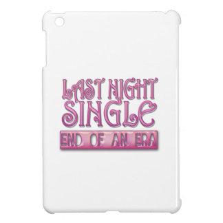 last night single bachelorette wedding party funny iPad mini case