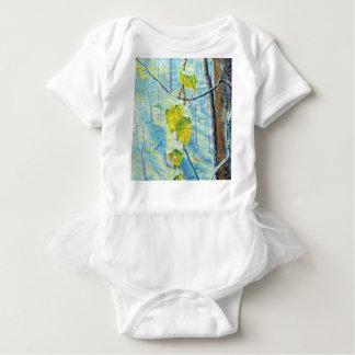 Last of the Leaves Baby Bodysuit