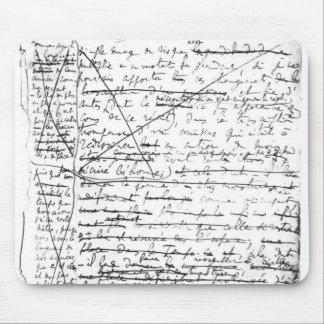 Last page of 'A la Recherche du Temps Perdu' Mouse Pad