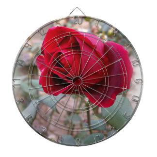 last red rose dartboard