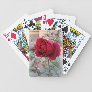 last red rose poker deck