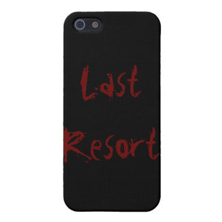 Last resort covers for iPhone 5