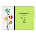 Last Round of Chemo-Congratulations