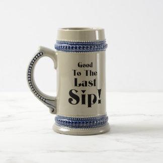 Last Sip! Beer Stein