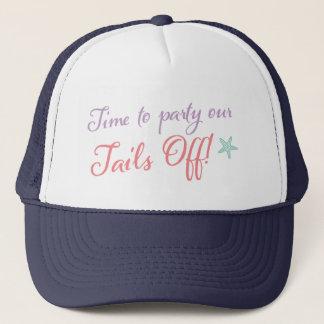 Last Splash Mermaid Bachelorette Hat