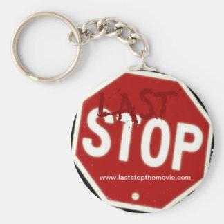 """Last Stop"" key chain"