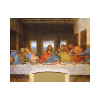 Last Supper Da Vinci Canvas Print