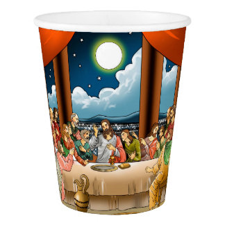 Last  Supper Paper Cup