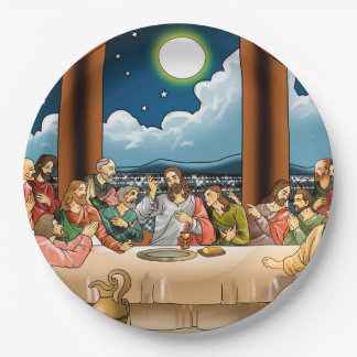 Last  Supper Paper Plate