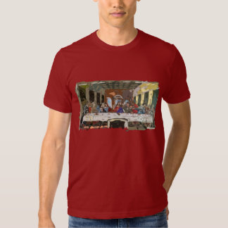 Last Supper Simple Abstract Tee Shirt