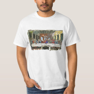 Last Supper Simple Abstract Tee Shirts
