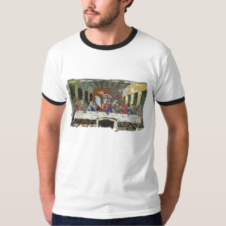 Last Supper Simple Abstract Tees