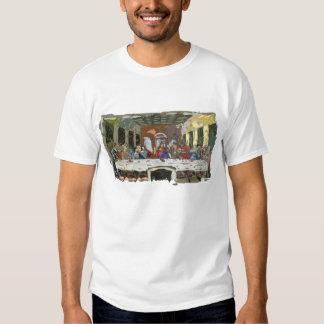 Last Supper Simple Abstract Tshirts