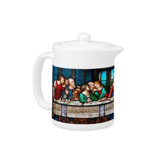 Last Supper Teapot