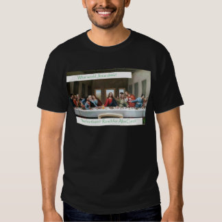 Last Supper with AloeCure T-shirts