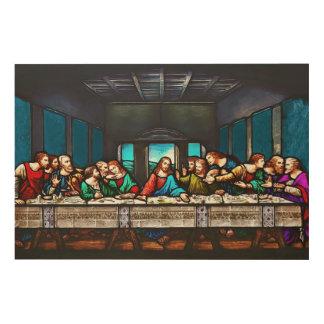 Last Supper Wood Wall Art