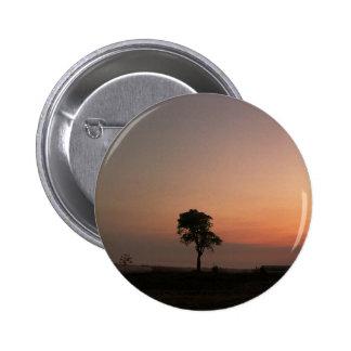 last tree 6 cm round badge