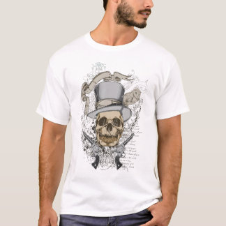 Last Word Skull & Guns T-Shirt
