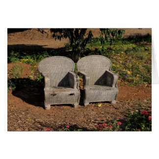 Late Afternoon Chairs  2014 Card
