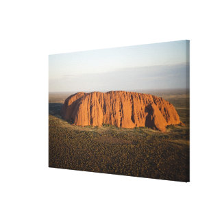 Late Afternoon Light on Uluru / Ayers Rock, Gallery Wrapped Canvas