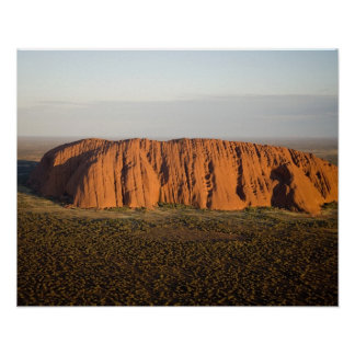 Late Afternoon Light on Uluru / Ayers Rock, Poster