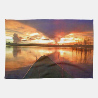 Late Afternoon Sunset Towel
