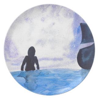 Late Night Swim Plate