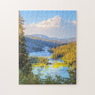 Late Summer Colorado Landscape Jigsaw Puzzle