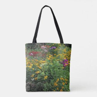 Late Summer Garden Tall Wild Mullein Tote Bag