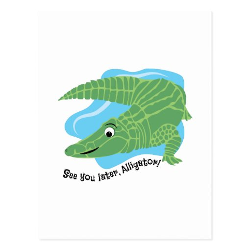Later Alligator Post Cards